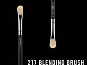 MAC brush 217 ( 24EUR)