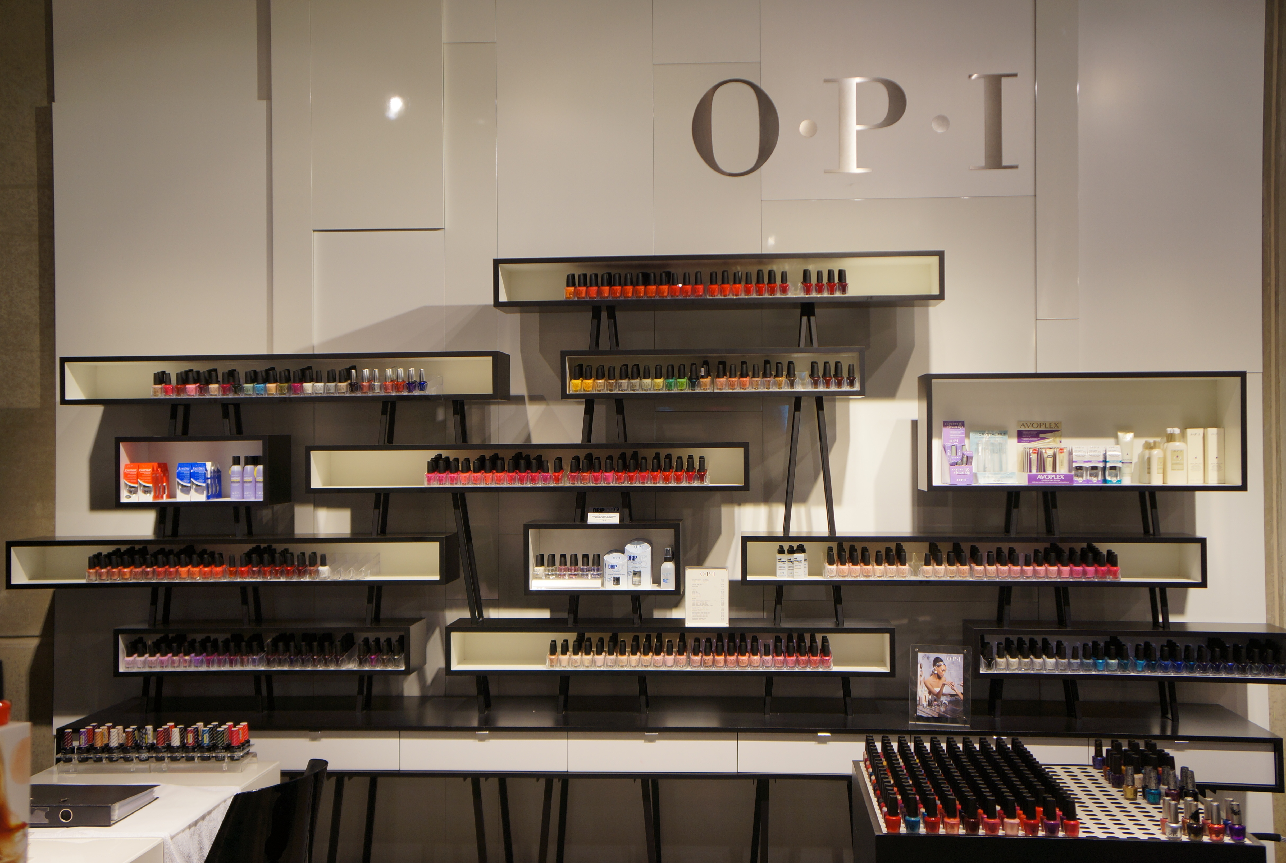 OPI corner at SMETS Store/ Pic by kiwikoo