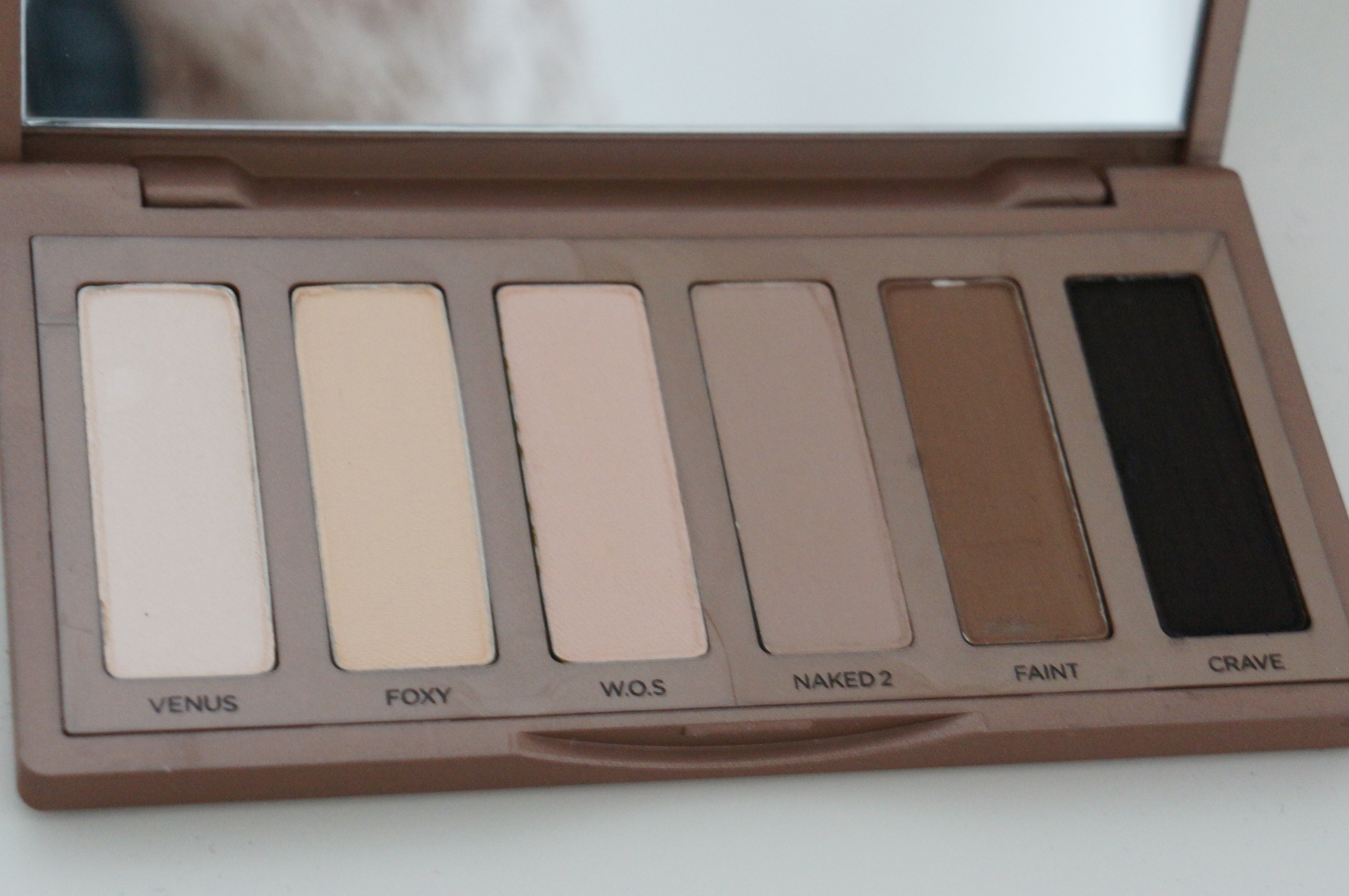 Urban Decay Naked Basics Palette/ Pic by kiwikoo