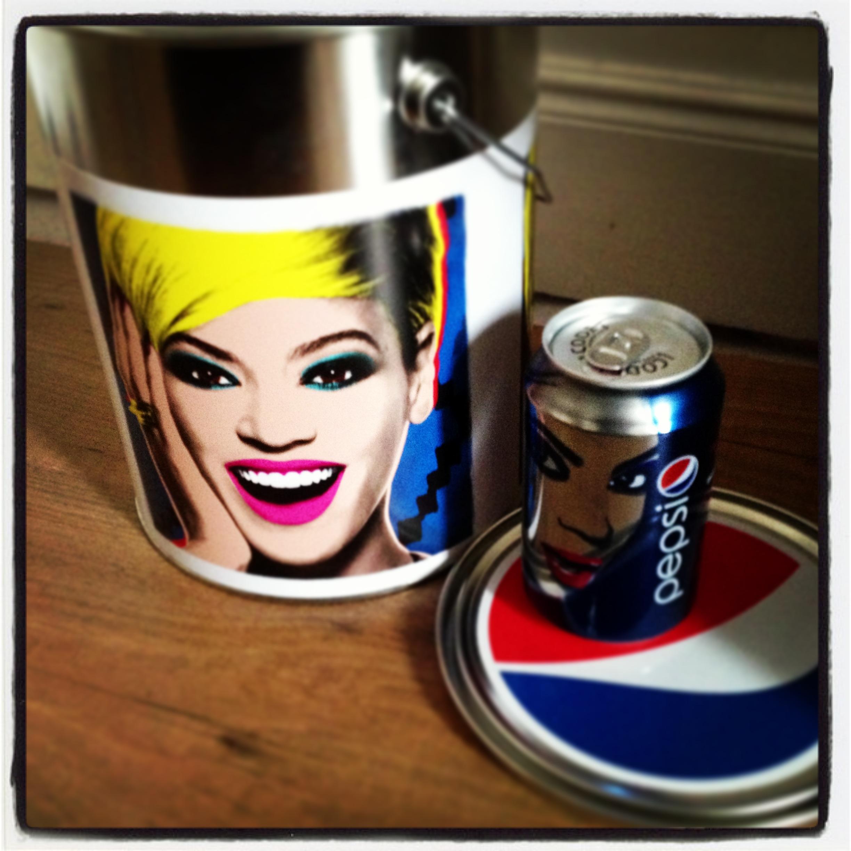 Pepsi x Beyoncé/ Pic by kiwikoo