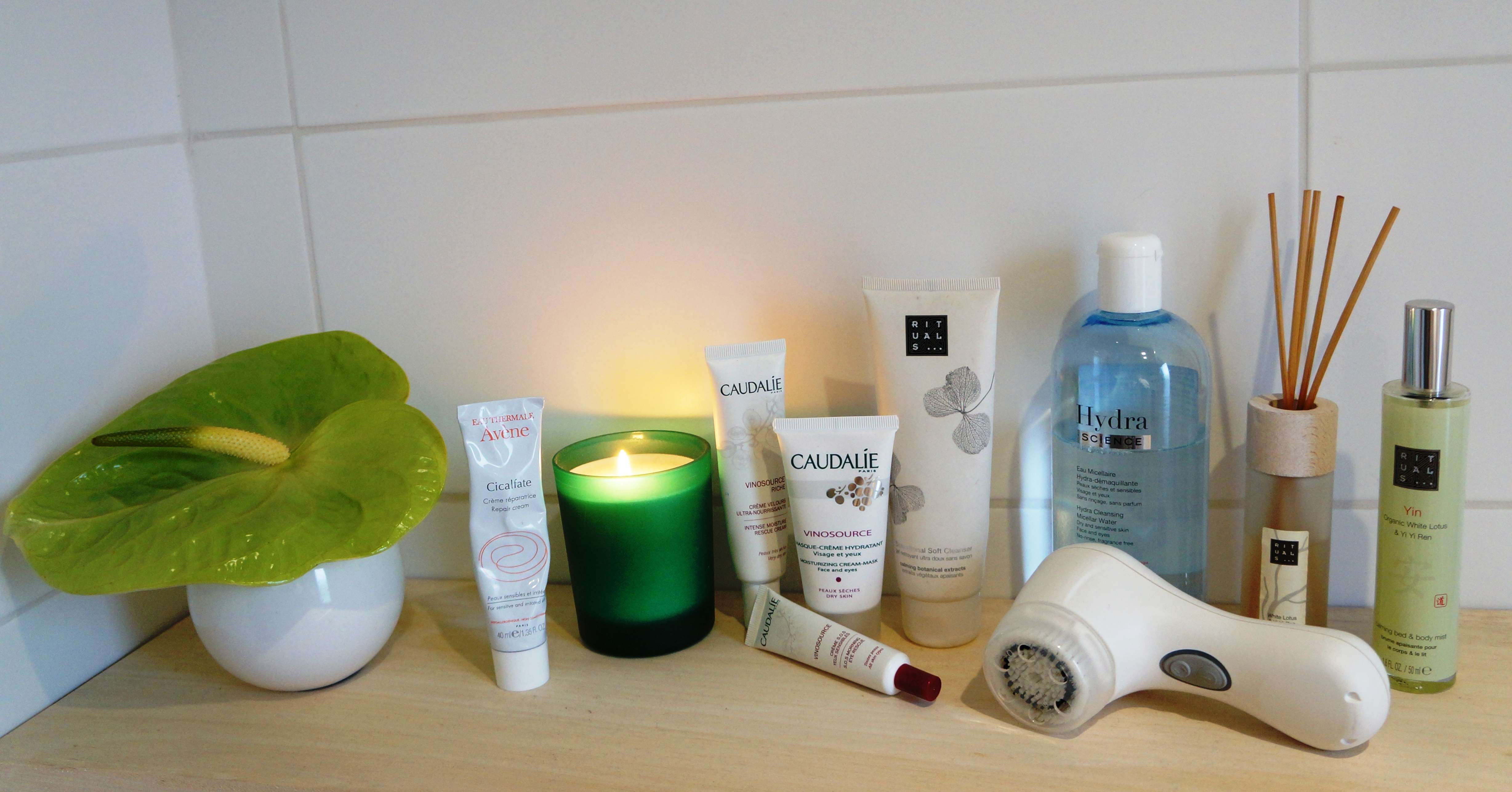 Skincare favourites / Pic by kiwikoo