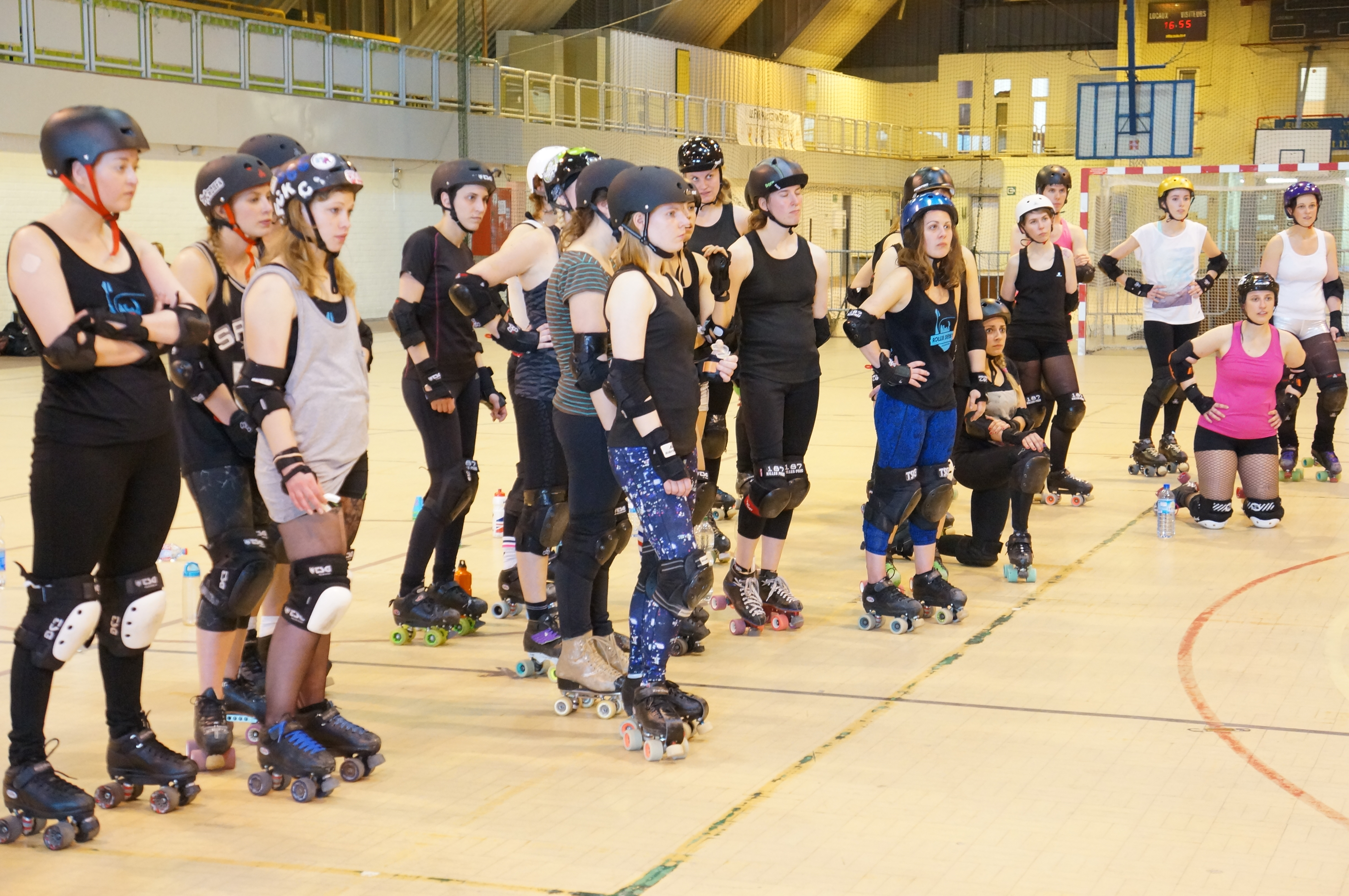 Les Dissidentes Roller Derby Liège/ Pic by 1FDLE.
