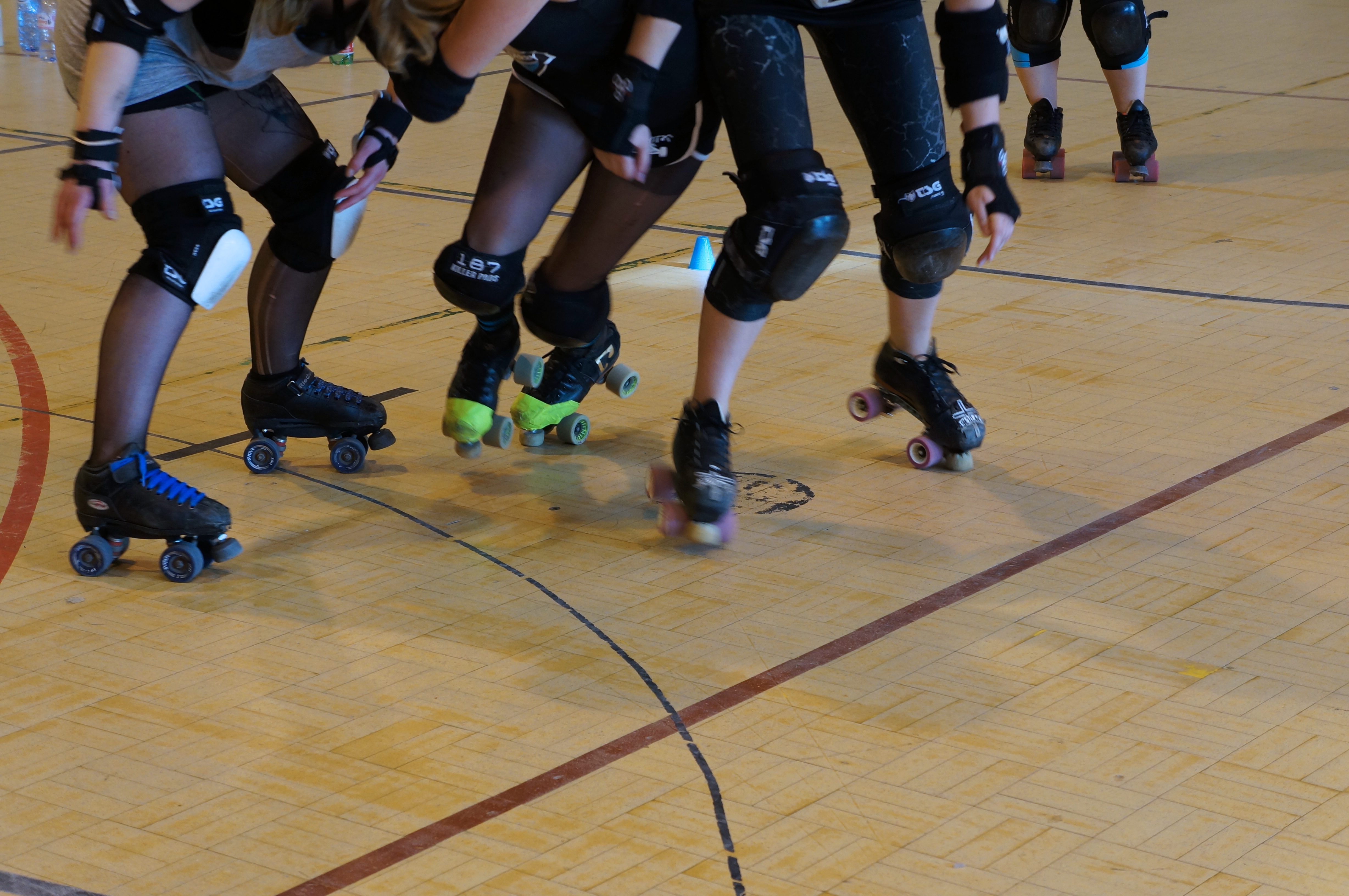 Les Dissidentes Roller Derby Liège / Pic by 1FDLE.