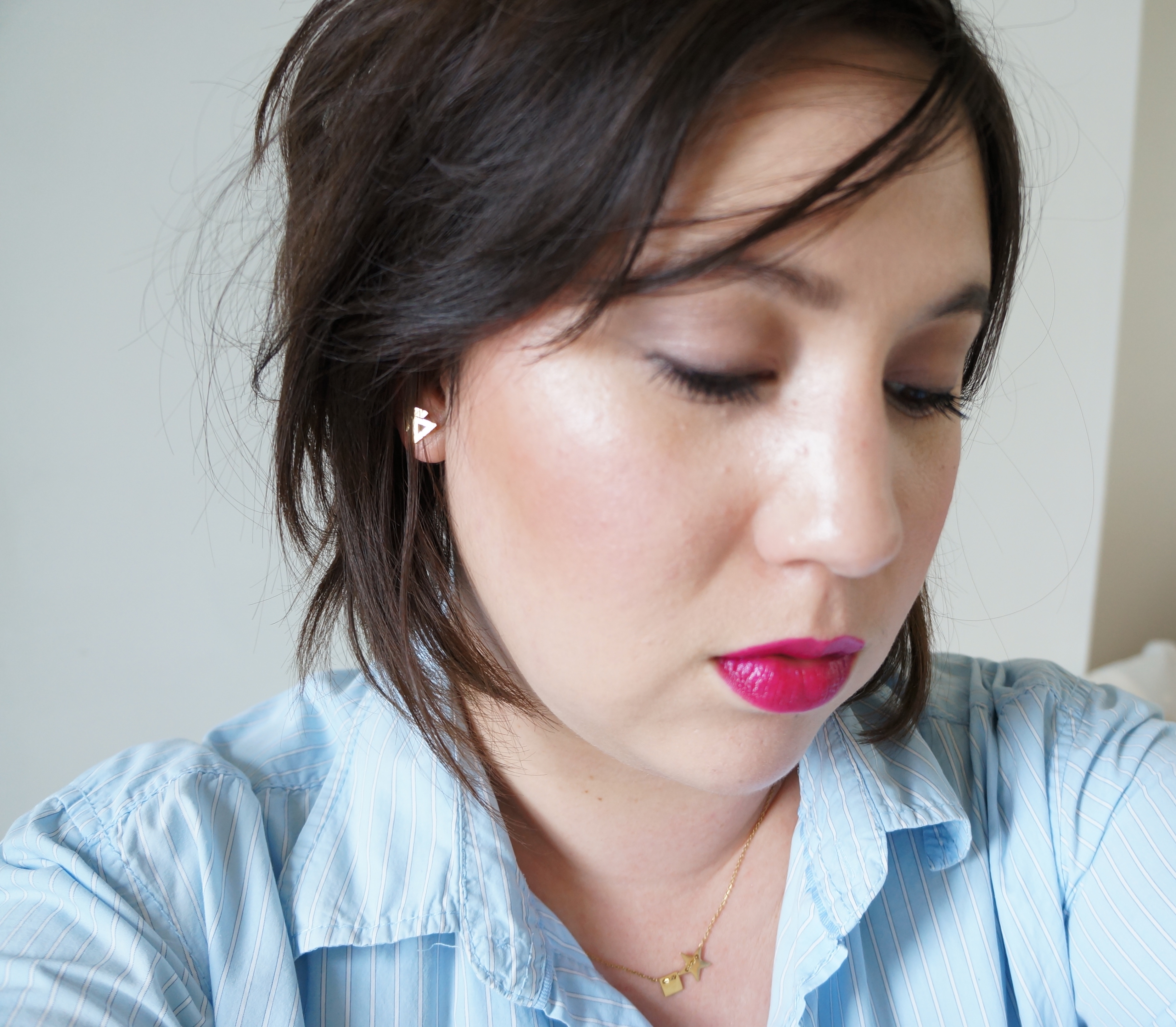 Urban Decay Vice Lipstick in Firebird/ Pic by 1FDLE.