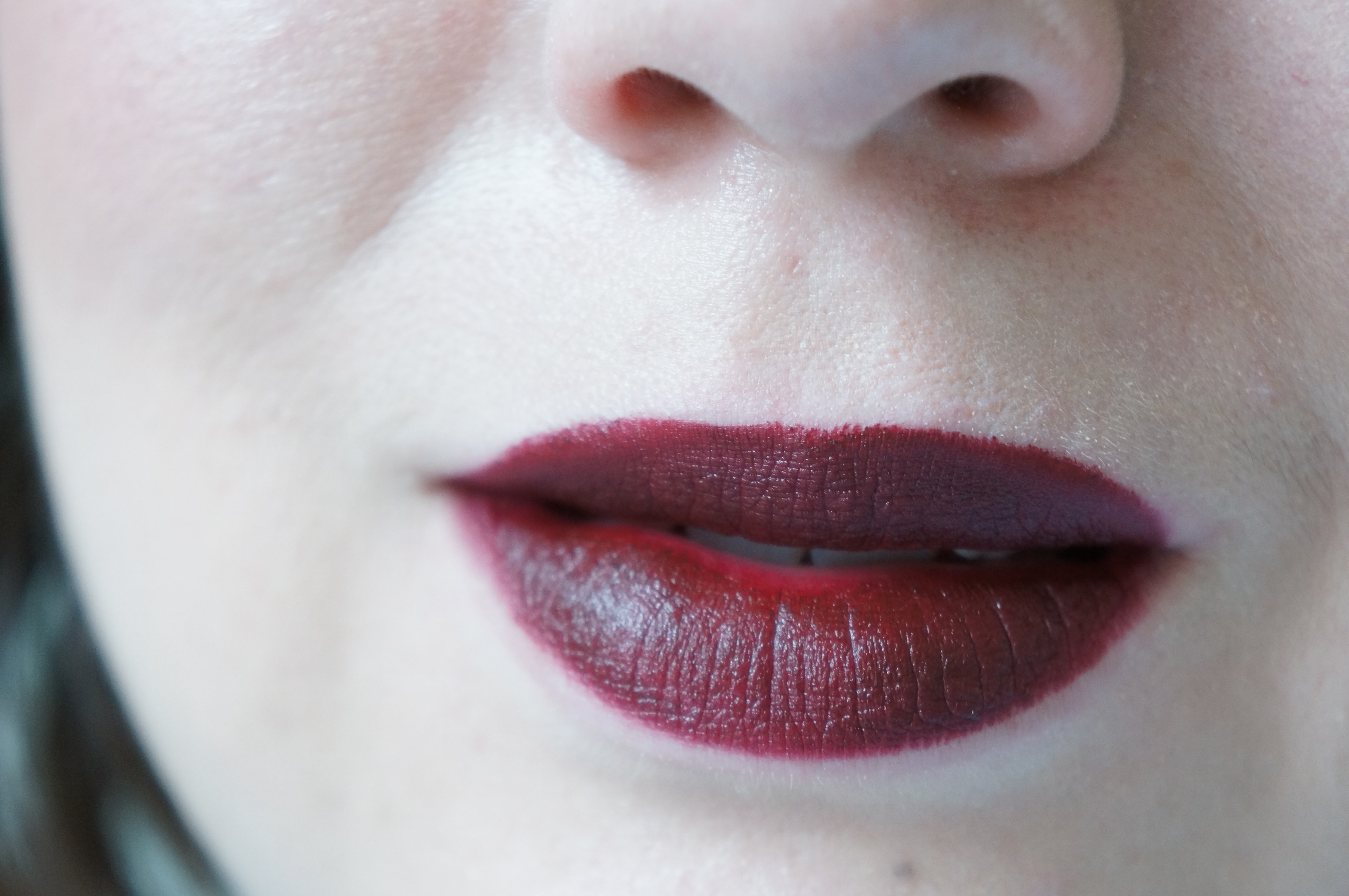 "Urban Decay Vice Lipstick in ""Disturbed""/ Pic by 1FDLE."