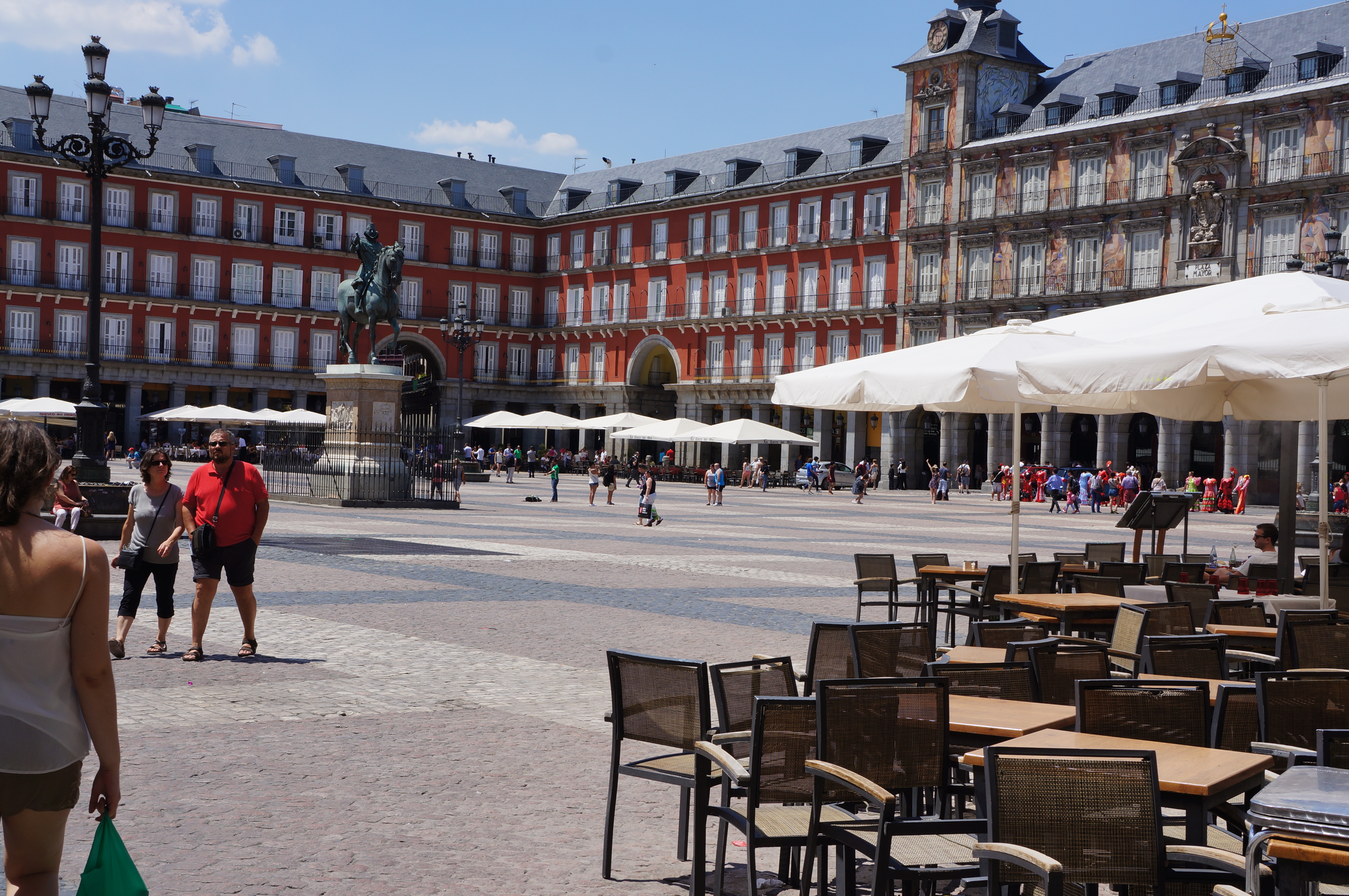Plaza Mayor in Madrid / Pic by 1FDLE.