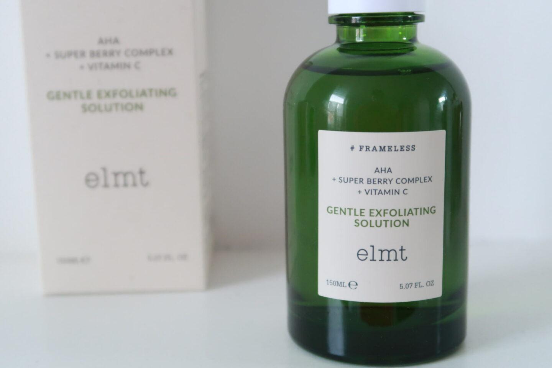 ELMT Gentle Exfoliating Solution by Wishtrend #skincare #kbeauty #bywishtrend #elmt #soinscoreens #soindelapeau