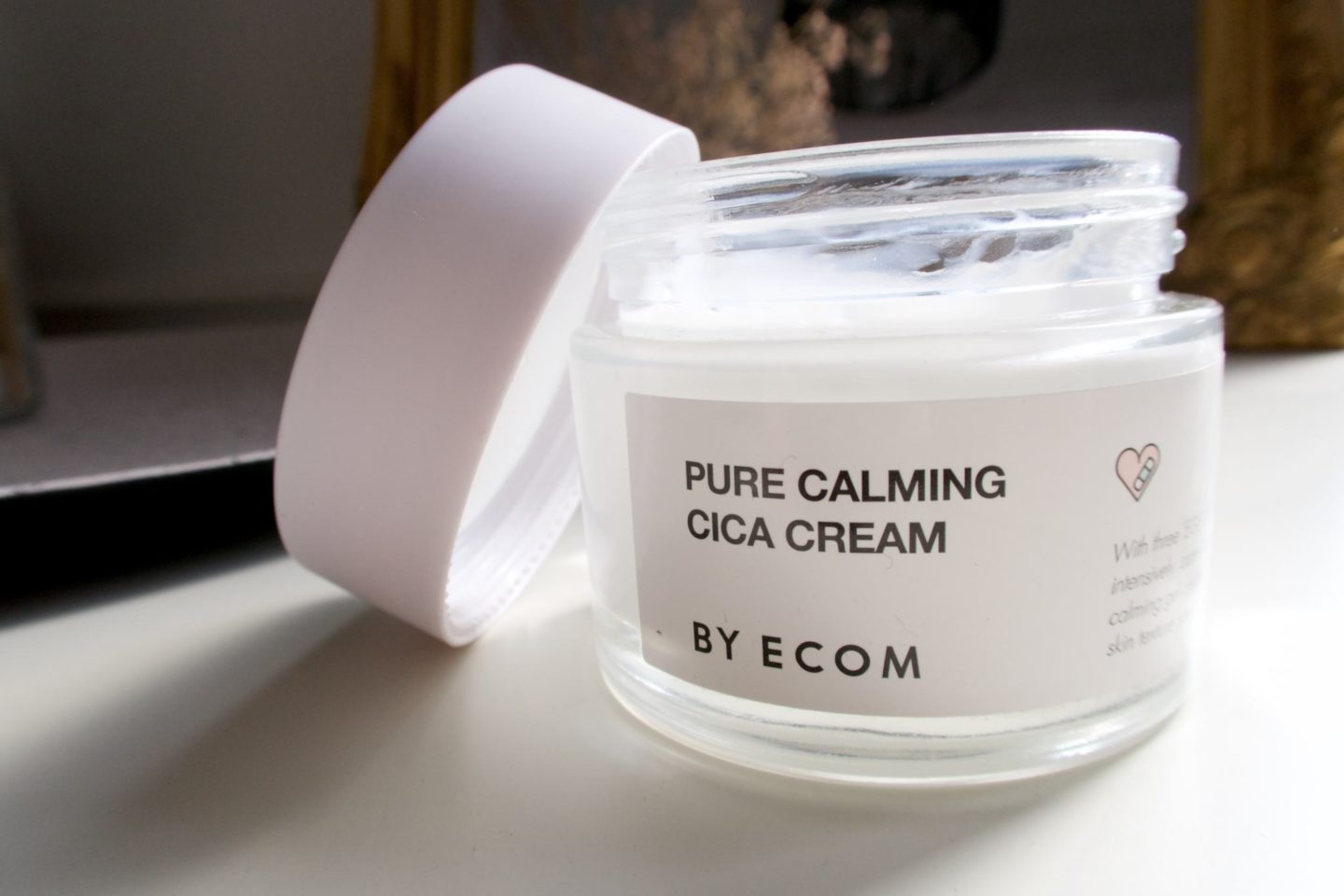 Pure Calming Cica Cream By Ecom.   #skincare #koreanskincare #beauty #soins #beaute #byecom