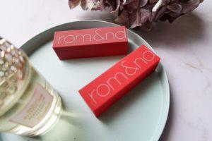 Rom&and Zero Gram Matte Lipsticks