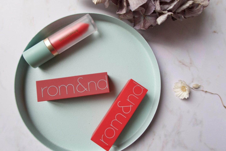 Mes premiers rouges à lèvres coréens. #kbeauty #koreanbeauty #milimage #waterrisingtint #romand #romandlipstick #koreanlipsticks
