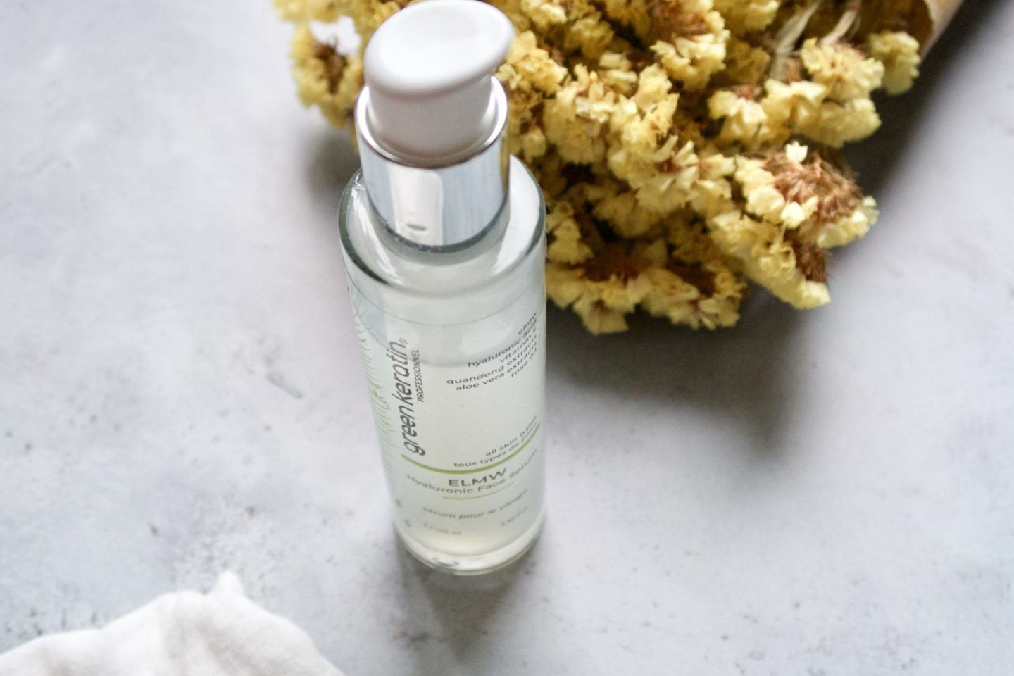 Green Keratin: Hyaluronic Face Serum #beaute #soin #soins #cosmetique #greenkeratin #hyaluronicfaceserum #serum