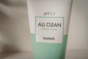 Heimish All Clean Green Foam Cleanser