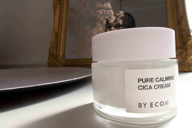 Pure Calming Cica Cream By Ecom.   #byecom #cica #centellaasiatica #skincare #skincareproduct #skincareroutine #beauty #kbeauty