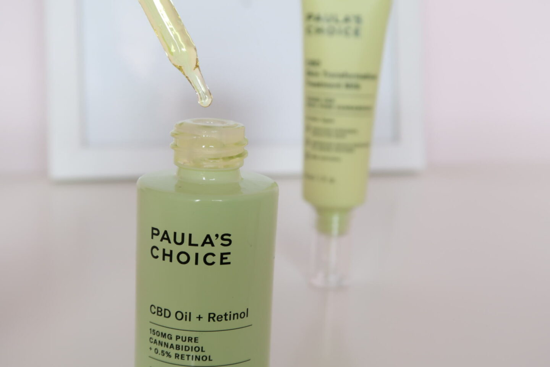 Paula's Choice CBD Oil + Retinol.    #cbd #skincare #beauty #soins #routinesoins #skincareroutine #paulaschoice #retinol #inflammedskin