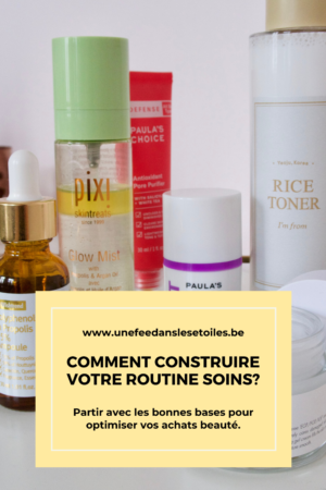 construire routine soins. #soins #beaute #routinesoins #skincare #beauty